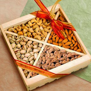 Sweet Harvest Deluxe Nut Tray image