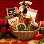 Spicy Salsa Gift Basket