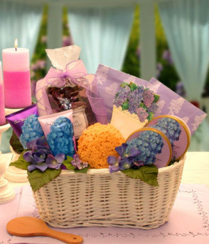 Spring Pleasures Gift Basket imagerjs