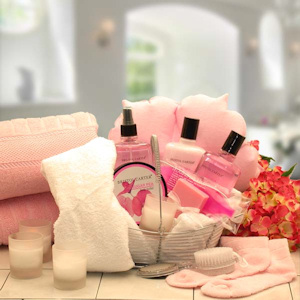 Perfect Peonies Spa Caddy Gift imagerjs