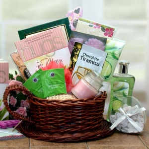 Mom Deserves A Hug & Relaxation Gift Basket imagerjs