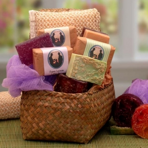 Simply Organics Scented Glycerin Soap Gift Set imagerjs