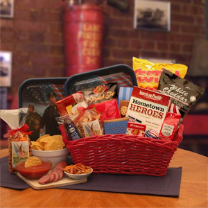Hometown Hereos Gift Basket imagerjs