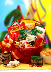Happiest Birthday Wishes Gift Basket imagerjs