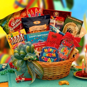 Our Best Birthday Wishes Gift basket imagerjs