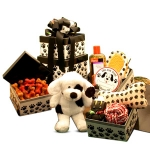 Puppy Dog Treat & Gift Tower