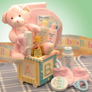 ABC Block Baby Gift (Pink or Blue) imagerjs