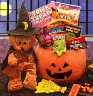 Bewitched Teddy Trick or Treat Gift imagerjs