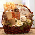 Vanilla Luxuries Pamper Basket