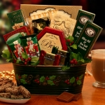 Deck The Halls Holiday Food Gift Basket