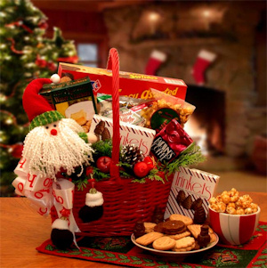 Cheerful Giver Gift Basket for Christmas imagerjs