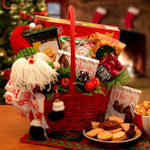 Cheerful Giver Gift Basket for Christmas