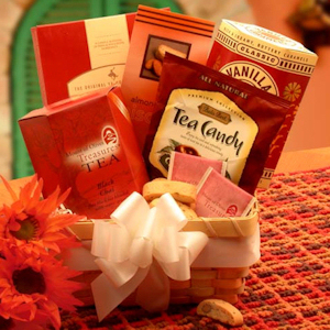 Afternoon Tea Delights Gift Basket imagerjs