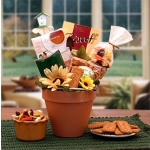 Sunflowers Gardening Pot