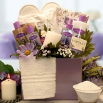 Lavender Spa New Mom Body Gift