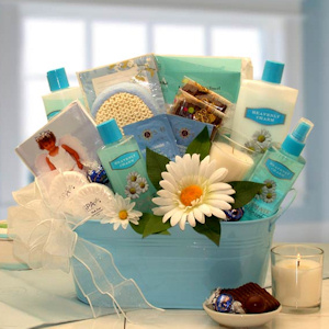 Heavenly Relaxation New Mom Spa Gift Set imagerjs
