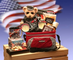 Revved Up Motorcycle Gift Tote imagerjs