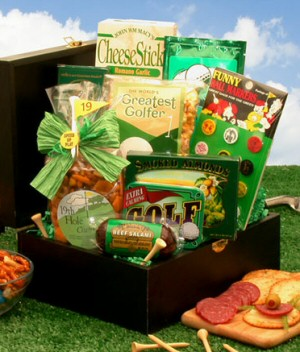 Golfers Deluxe Gift Box imagerjs