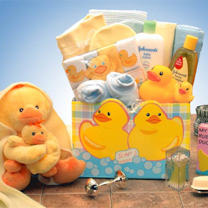 Just Ducky New Baby Gift imagerjs