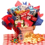 Movie Night Snack Bucket with Red Box Rental