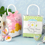 Baby Hershey's Kisses Mini Gift Tote Favors