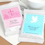 Personalized Religious Coffee Favors - White (Many Designs)
