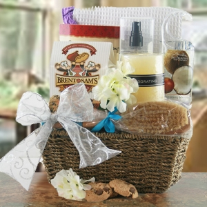 Divine Relaxation Gift Basket imagerjs