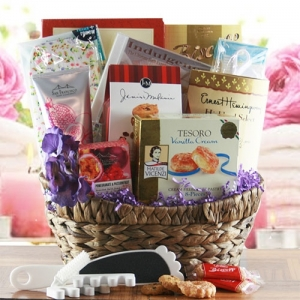 Complete Relaxation Spa Infusion Gift Basket imagerjs