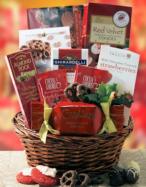 Deck The Halls Chocolate Holiday Gift imagerjs