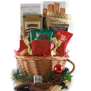 Christmas Time Gift Basket imagerjs