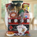 Roll the Dice Poker Gift Basket