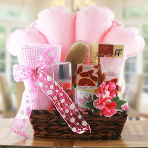 Bath Time Relaxation Gift Basket imagerjs