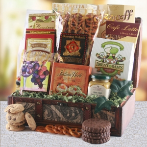 Treasured Gourmet Gift Basket imagerjs