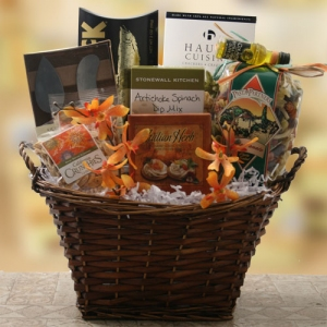 Gourmet Goodness Thinking of You Basket imagerjs