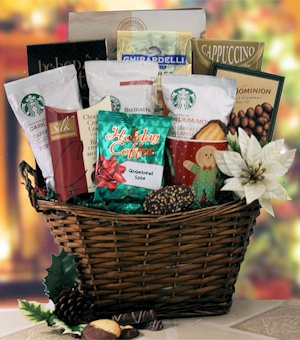Glad Tidings Coffee Gift Basket imagerjs