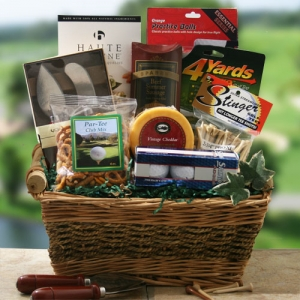 On the Green Gift Basket imagerjs