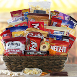 Grand Snacker Gift Basket