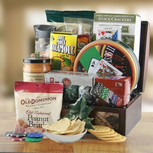 Dad's Deal Poker Gift Basket imagerjs