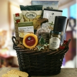 With Our Sympathy Gift Basket