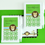 Jungle Safari Personalized Notebook Favor