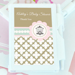 Birdcage Party Personalized Notebook Favors