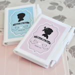 Vintage Baby Personalized Notebook Favors