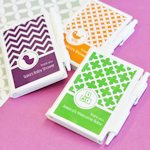 MOD Pattern Baby Notebook Favors