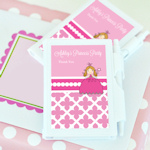 Princess Party Personalized Notebook Favors