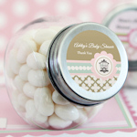 Birdcage Party Personalized Candy Jars
