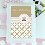 Birdcage Party Personalized Playing Cards