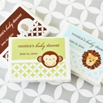 Baby Animals Personalized Gum Box Favors