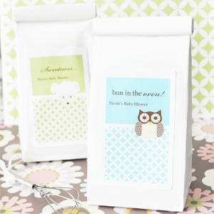 Baby Animals Personalized Muffin Mix Shower Favors imagerjs