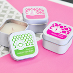 MOD Pattern Baby Square Candle Tins