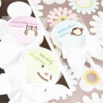 Baby Animals Personalized Lollipop Favors